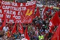 Fórum Social Mundial 2009.<br /> Milhares de manifestantes participam da passeata pela abertura<br /> do Fórum Social Mundial 2009.<br /> Foto Paulo Santos<br /> Belém, Pará, Brasil.<br /> 27/01/2009