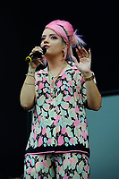 LONDON, ENGLAND - JUNE 3: Lily Allen performing at Mighty Hoopla at Brockwell Park on June 3, 2018 in London<br /> CAP/MAR<br /> &copy;MAR/Capital Pictures