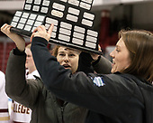 - The Boston College Eagles defeated the Northeastern University Huskies 2-1 to win the Beanpot on Monday, February 7, 2017, at Matthews Arena in Boston, Massachusetts.