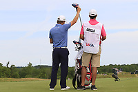 Emiliano Grillo (ARG) on the 4th tee during Friday's Round 2 of the 117th U.S. Open Championship 2017 held at Erin Hills, Erin, Wisconsin, USA. 16th June 2017.<br /> Picture: Eoin Clarke | Golffile<br /> <br /> <br /> All photos usage must carry mandatory copyright credit (&copy; Golffile | Eoin Clarke)