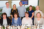 Celebrating their end of year with a night out in the Greyhound Track on Friday night were the staff of Freemount NS .Pictured front l-r Ann Cronin, Carmel Buckley, Mairead O'Sullivan and Ger Noonan. Back l-r James McAuliffe, Denise O'Connor, Sean Erwin, Kathleen Murphy and Elizabeth McCauley.