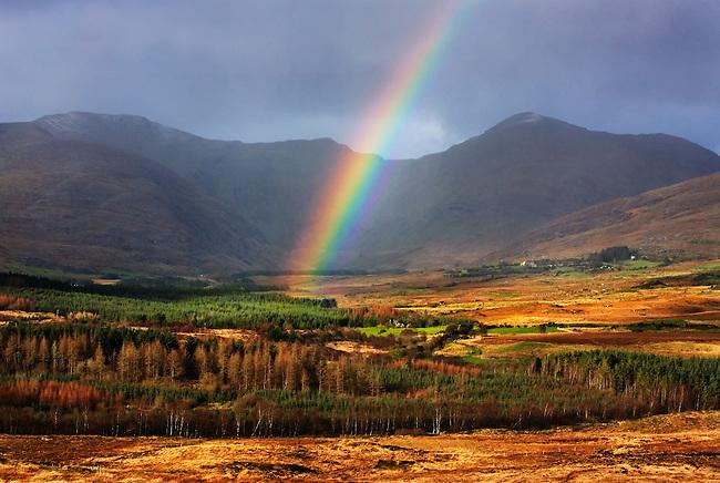 Rainbow in Kerry, on the westcoast of Ireland