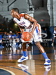Texas-Arlington Mavericks guard/forward LaMarcus Reed III (31) in action during the game between the McNeese State Cowboys and the UTA Mavericks held at the University of Texas at Arlington's, Texas Hall, in Arlington, Texas.  McNeese State defeats UTA 81 to 72.