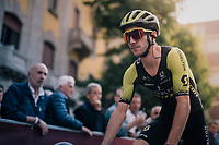 Adam Yates (GBR/Mitchelton-Scott) to the start<br /> <br /> 99th Milano - Torino 2018 (ITA)<br /> from Magenta to Superga: 200km