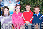 MATHS FUN: Taking part in the National maths week Family Maths Fun at the ITT South Campus on Thursday l-r: Marie Hannafin, Leatheast, And Aoife, Rory and Barry Mahony, Lixnaw.   Copyright Kerry's Eye 2008