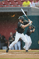 Jacob Hurtubise (39) of the Army Black Knights at bat against the Auburn Tigers at Doak Field at Dail Park on June 2, 2018 in Raleigh, North Carolina. The Tigers defeated the Black Knights 12-1. (Brian Westerholt/Four Seam Images)