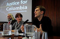 Latin America 2014 Conference<br /> Adelante!<br /> <br /> 'Peace and Protest in Columbia' seminar<br /> Seumas Milne<br /> Writer and journalist