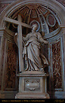 St Helena Northwest Pier Sculpture Andrea Bolgi 1639 St Peter's Basilica Rome