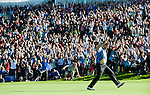 RYDER CUP 2010, CELTIC MANOR, WALES..THE WINNING EUROPEAN TEAM..4-10-2010 PIC BY IAN MCILGORM
