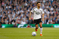 Ryan Fredericks of Fulham during the Sky Bet Championship play off semi final 2nd leg match between Fulham and Derby County at Craven Cottage, London, England on 15 May 2018. Photo by Carlton Myrie / PRiME Media Images.