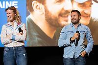 EXCLUSIF : Alexandra Lamy et Jos&eacute; Garcia lors de l'avant-premi&egrave;re du film &quot; Chamboultout &quot; &agrave; l'UGC De Brouck&egrave;re, &agrave; Bruxelles.<br /> Belgique, Bruxelles, 22 mars 2019.<br /> EXCLUSIVE : French actress Alexandra Lamy, French actor Jos&eacute; Garcia and French director Eric Laverne attend the movie premiere of ' Chamboultout ' at the UGC De Brouck&egrave;re in Brussels.<br /> Belgium, Brussels, 22 March 2019.