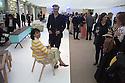 Cocktail party at the Austria design exhibition at Villa Necchi Campiglio in Milan, April 13, 2016. &copy; Carlo Cerchioli<br /> <br /> Cocktail party alla mostra del design austriaco a Villa Necchi Campiglio, Milano, 13 aprile 2016.