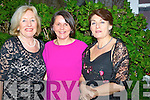 WELCOMED: Joan O'Connor who welcomed Sheila Griffn (West LImerick 102 FM) Rose Tracey (Ballybunion/Listowel) and Joan O'Connor (Kilcooly House), to the Women in Media Awards night in The Kilcooley Bar & Restaurant, Ballybunion on Saturday evening.