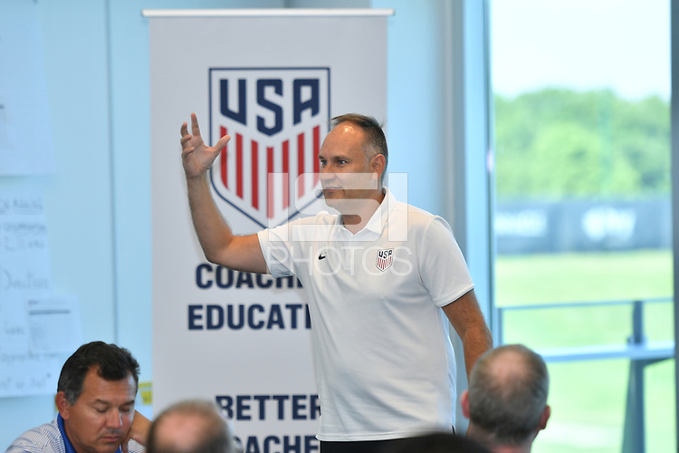 Kansas City, KS - Saturday, August 3, 2019 : NDP, Grassroots Educator Workshop, during U.S. Soccer Grassroots Educator Workshop at the National Development Center in Kansas City, Kansas.