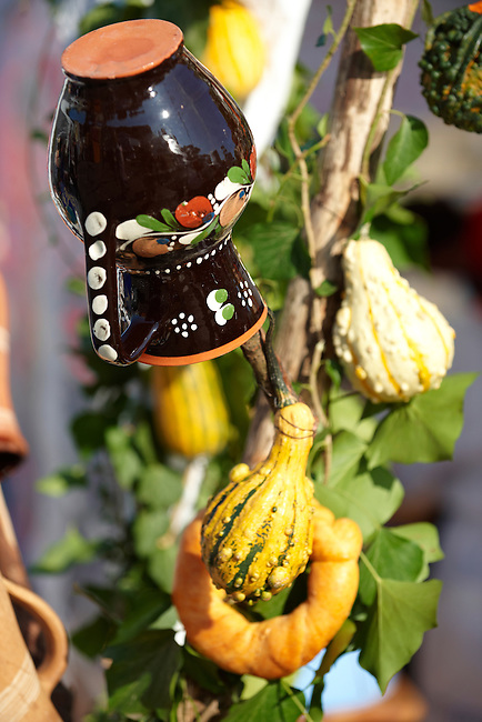 Traditional Harvest festival decorations - Hungary