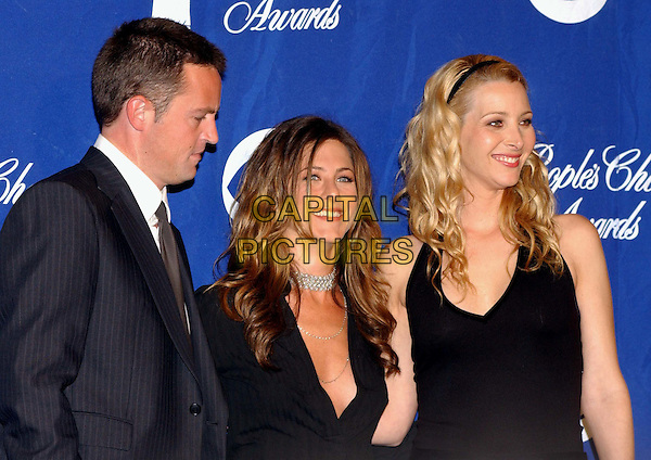 MATTHEW PERRY, JENNIFER ANISTON, LISA KUDROW.29th Annual People's Choice Awards .www.capitalpictures.com.sales@capitalpictures.com.©Capital Pictures.