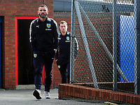Burnley's Phillip Bardsley arrives at Selhurst Park<br /> <br /> Photographer Ashley Crowden/CameraSport<br /> <br /> The Premier League - Crystal Palace v Burnley - Saturday 13th January 2018 - Selhurst Park - London<br /> <br /> World Copyright &copy; 2018 CameraSport. All rights reserved. 43 Linden Ave. Countesthorpe. Leicester. England. LE8 5PG - Tel: +44 (0) 116 277 4147 - admin@camerasport.com - www.camerasport.com