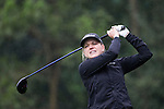 Ursula Wikstrom of Finland tees off at the 14th hole during Round 1 of the World Ladies Championship 2016 on 10 March 2016 at Mission Hills Olazabal Golf Course in Dongguan, China. Photo by Victor Fraile / Power Sport Images