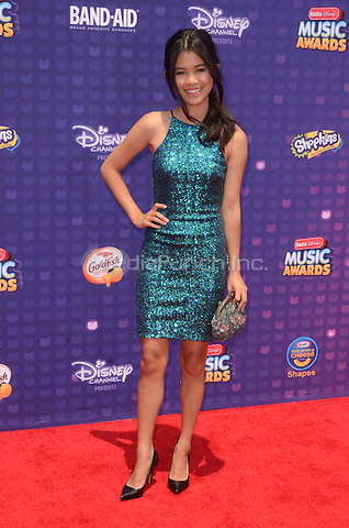 LOS ANGELES, CA - April 30: Tiffany Espensen at the 2016 Radio Disney Music Awards at the Microsoft Theater in Los Angeles, California on April 30, 2016. Credit: David Edwards/MediaPunch