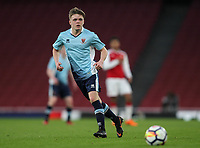 Blackpool U18's Finn Sinclair-Smith<br /> <br /> Photographer Andrew Kearns/CameraSport<br /> <br /> Emirates FA Youth Cup Semi- Final Second Leg - Arsenal U18 v Blackpool U18 - Monday 16th April 2018 - Emirates Stadium - London<br />  <br /> World Copyright &copy; 2018 CameraSport. All rights reserved. 43 Linden Ave. Countesthorpe. Leicester. England. LE8 5PG - Tel: +44 (0) 116 277 4147 - admin@camerasport.com - www.camerasport.com