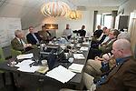 UTRECHT - Forumdiscussie Speelkwaliteit in de golfsport. FOTO KOEN SUYK
