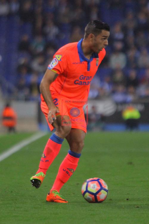 League Santander 2016/2017. Game: 27.<br /> RCD Espanyol vs UD Las Palmas: 4-3.<br /> David Simon.