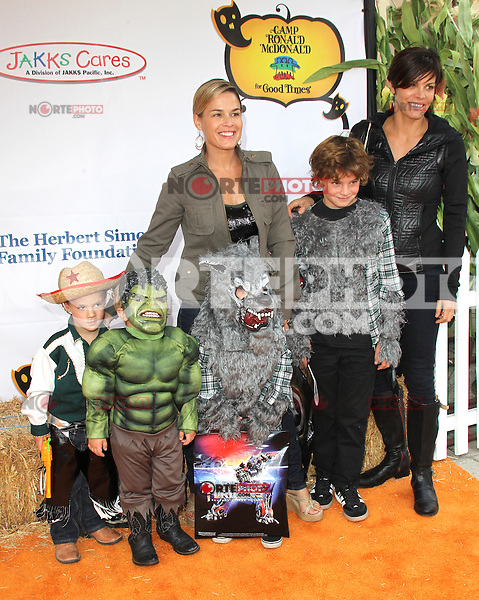 UNIVERSAL CITY, CA - OCTOBER 21:  Cat Cora and Jennifer Cora at the Camp Ronald McDonald for Good Times 20th Annual Halloween Carnival at the Universal Studios Backlot on October 21, 2012 in Universal City, California. ©mpi28/MediaPunch Inc. /NortePhoto