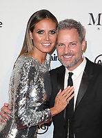 WEST HOLLYWOOD, CA - JANUARY 11: Heidi Klum, Tom Bachik, at Marie Claire's Third Annual Image Makers Awards at Delilah LA in West Hollywood, California on January 11, 2018. Credit: Faye Sadou/MediaPunch