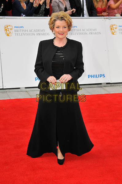 BRENDA BLETHYN .Attending the Philips British Academy Television Awards, Grosvenor house Hotel, Park Lane, London, England, UK, May 22nd 2011..arrivals TV Baftas Bafta full length black jacket long maxi skirt clutch bag dress .CAP/CAS.©Bob Cass/Capital Pictures.