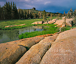 Granite, Horse Meadow, Emigrant Wilderness, Stanislaus National Forest, Sierra Nevada Mountains, California