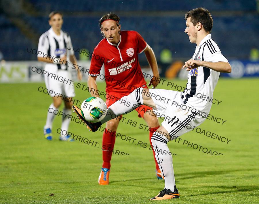 Fudbal UEFA Europa League season 2013-2014<br /> Play-offs First leg<br /> Partizan v Thun<br /> Nikola Ninkovic<br /> Beograd, 22.08.2013.<br /> foto: Srdjan Stevanovic/Starsportphoto &copy;