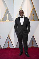 Daniel Kaluuya, Oscar&reg; nominee for performance by an actor in a Leading role, for work on &ldquo;Get Out&quot;, arrives on the red carpet of The 90th Oscars&reg; at the Dolby&reg; Theatre in Hollywood, CA on Sunday, March 4, 2018.<br /> *Editorial Use Only*<br /> CAP/PLF/AMPAS<br /> Supplied by Capital Pictures