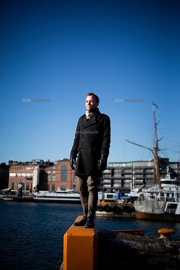 Oslo, Norge, 14.03.2013. Audun Lysbakken til portrettet. Foto: Christopher Olssøn .