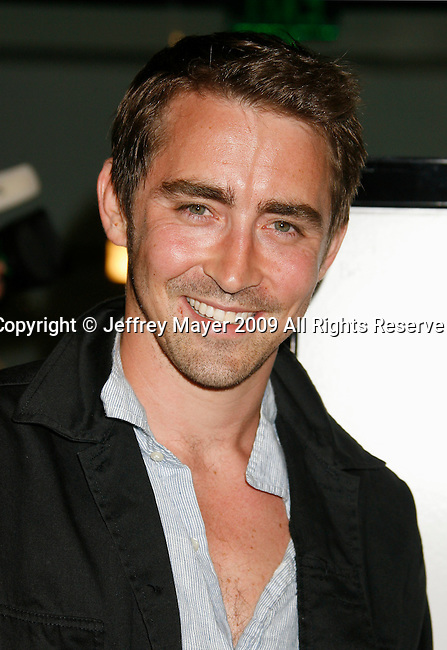 "WEST HOLLYWOOD, CA. - June 08: Actor Lee Pace arrives at the Los Angeles premiere of ""Whatever Works"" at the Pacific Design Center on June 8, 2009 in West Hollywood, California."