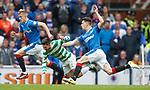 Ross McCrorie and Ryan Jack with Patrick Roberts