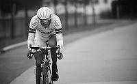 Tom Dumoulin (NLD/Argos-Shimano)<br /> <br /> Omloop Het Nieuwsblad 2013