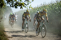 breakaway group<br /> <br /> Antwerp Port Epic 2020 <br /> One Day Race: Antwerp to Antwerp 183km; of which 28km are cobbles and 35km is gravel/off-road<br /> Bingoal Cycling Cup 2020