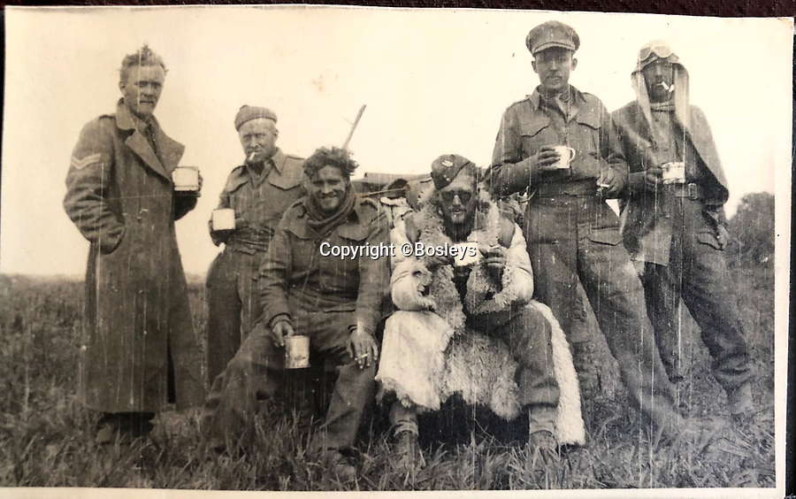 BNPS.co.uk (01202 558833)<br /> Pic: Bosleys/BNPS<br /> <br /> Irregular Army - The SAS dress code was somewhat different to the regular army.<br /> <br /> Sold for £25,000 - An extraordinary wartime archive that lift's the veil on the earliest days of the SAS during WW2.<br /> <br /> The late Fred Casey was among the original dozen members of the 1st Special Air Service that was formed in North Africa to wreak havoc behind enemy lines.<br /> <br /> The commando's military possessions included a remarkable album containing previously unseen images of the founding members of the elite force.<br /> <br /> Legendary Captain David Stirling, who formed the 'Who Dares Wins' regiment, and hand-picked the men under his command, is pictured along with his controversial deputy Paddy Mayne , who took over the top secret regiment after Stirling's capture.<br /> <br /> The album sold at Bosley's Auctioneers of Marlow, Bucks, last week for over five times its pre-sale estimate..