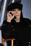 HOLLYWOOD, CA - MARCH 20: Mick Mars of Motley Crue attend the 'Kiss, Motley Crue: The Tour' Press Conference at Hollywood Roosevelt Hotel on March 20, 2012 in Hollywood, California.