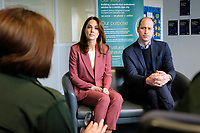 Prince William Duke of Cambridge and Duchess of Cambridge Visit London Ambulance Service Control Roo