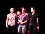 "General Hospital's Jonathan Jackson ""Avery Barkley"" stars in Nashville with costars Sam Palladio ""Gunner"", Chris Carmack ""Will"", and Charles Esten ""Deacon"" and perform live in concert at WolfTrap, Vienna, Virginia. (Photo by Sue Coflin/Max Photos)"