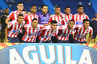 BARRANQUILLA - COLOMBIA ,02-05-2019: Formación  del Atlético Junior  ante el  Alianza Petrolera   durante partido por la fecha 19 de la Liga Águila I 2019 jugado en el estadio Metropolitano Roberto Meléndez de la ciudad de Barranquilla . / Team of Atletico Junior agaisnt of Alianza Petrolera    during the match for the date 19 of the Liga Aguila I 2019 played at Metropolitano Roberto Melendez Satdium in Barranquilla City . Photo: VizzorImage / Alfonso Cervantes / Contribuidor.