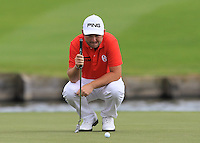 Andy Sullivan (ENG) on the 18th fairway during Round 2 of the 100th Open de France, played at Le Golf National, Guyancourt, Paris, France. 01/07/2016. <br /> Picture: Thos Caffrey | Golffile<br /> <br /> All photos usage must carry mandatory copyright credit   (&copy; Golffile | Thos Caffrey)
