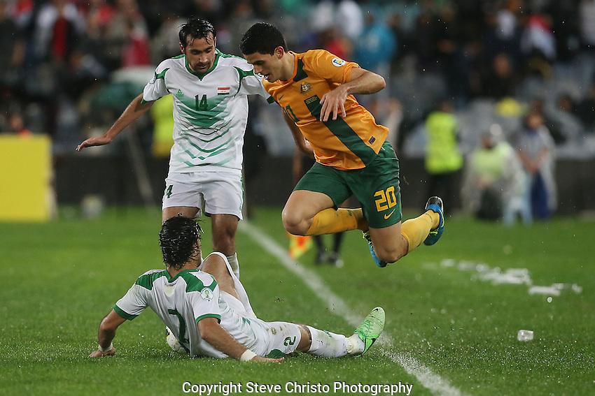 Soccer - Australia v Iraq - 2014 FIFA World Cup Brazil - Asian