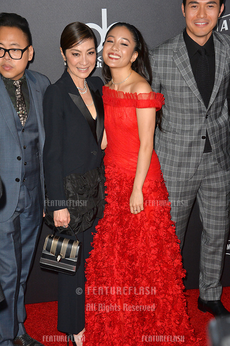 LOS ANGELES, CA. November 04, 2018: Michelle Yeoh &amp; Constance Wu at the 22nd Annual Hollywood Film Awards at the Beverly Hilton Hotel.<br /> Picture: Paul Smith/Featureflash