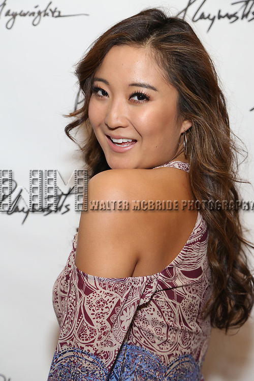 Ashley Park attends the Opening Night Performance of the Playwrights Horizons world premiere production of 'Log Cabin' on June 25, 2018 at Playwrights Horizons in New York City.