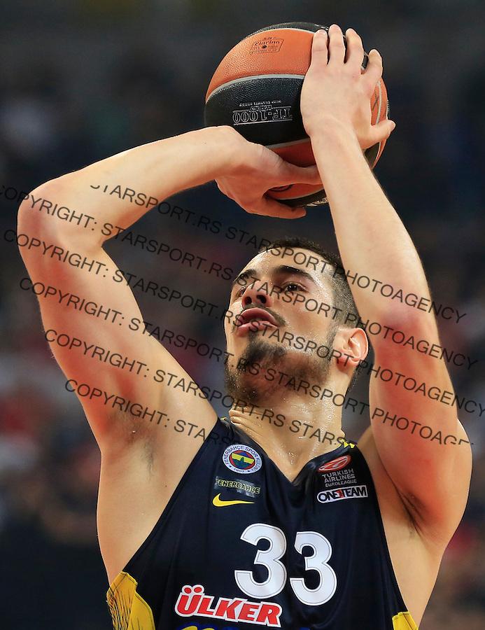 Kosarka Euroleague season 2015-2016<br /> Euroleague <br /> Crvena Zvezda v Fenebahce Istanbul<br /> Nikola Kalinic<br /> Beograd, 06.11.2015.<br /> foto: Srdjan Stevanovic/Starsportphoto &copy;