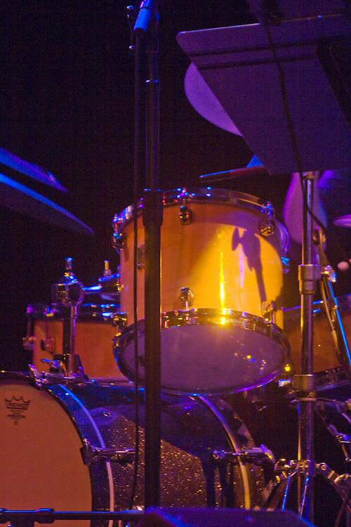 Seattle Triple Door drum set jazz club; more than a jazz club & Drum set Seattle Triple Door jazz club; First Avenue Skid Road ...
