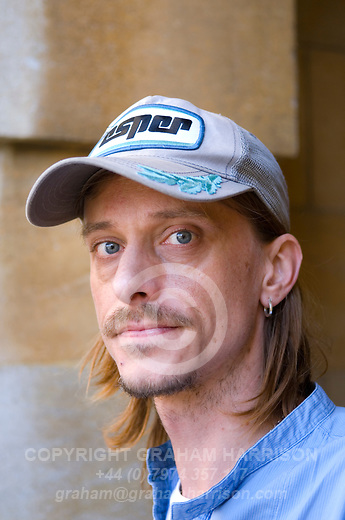 Mackenzie Crook at Christ Church during the Sunday Times Oxford Literary Festival, UK, 24 March - 1 April 2012. ..PHOTO COPYRIGHT GRAHAM HARRISON .graham@grahamharrison.com.+44 (0) 7974 357 117.Moral rights asserted.