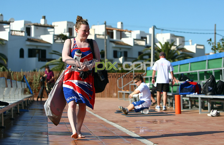 PICTURE BY VAUGHN RIDLEY/SWPIX.COM - Disability Swimming - Warm Weather Training Camp - Best Swim Centre, Colonia Sant Jordi, Mallorca, Spain - 23/05/12 - Gemma Almond.